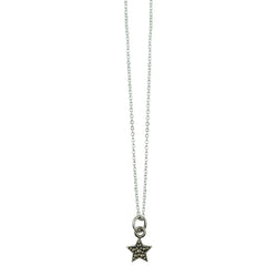 Marcasite Star Necklace