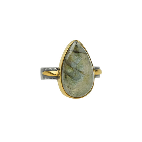 Alchemy Ring in Labradorite