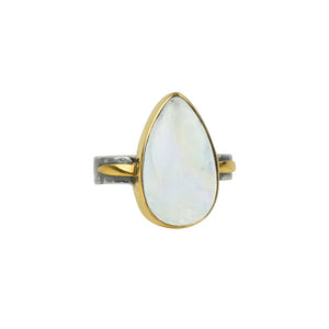 Alchemy Ring in Moonstone
