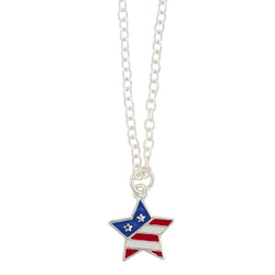 Usa Star Power Necklace