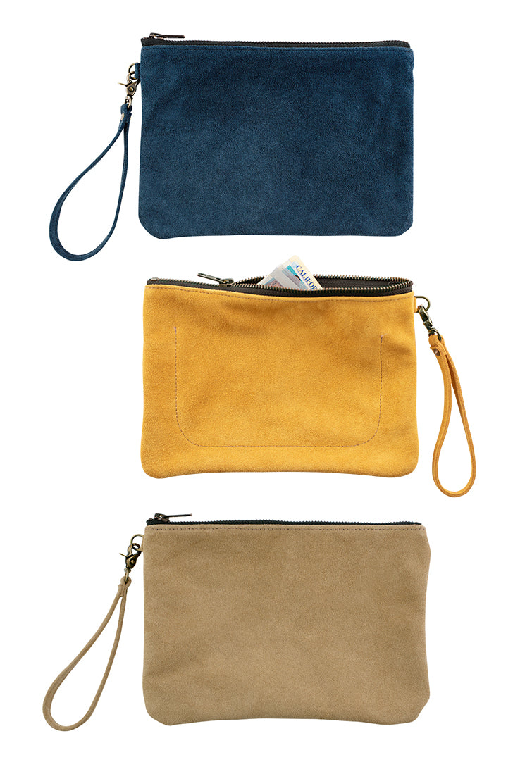 Indispensable Leather Go-Bag in Sand