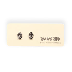 W.W.B.D. Post Earrings with Gift Card