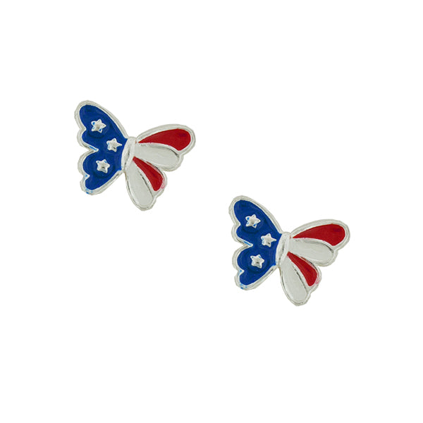 Be-Spangled Butterfly Post Earrings