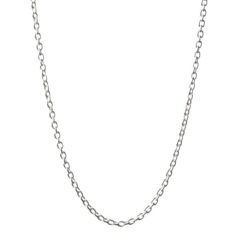Cable Chain in Silver 18-20""