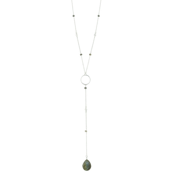 Charisma Necklace In Labradorite And Silver