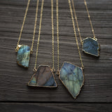 Northern Lights Necklace in Gold