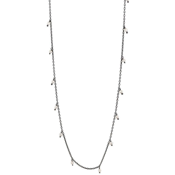 "Falling Snow Necklace - 20-22"" L"