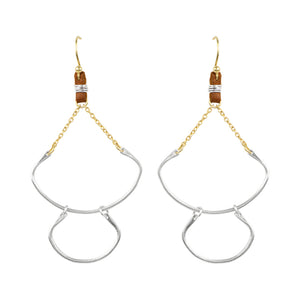 Tethered Leather Earrings