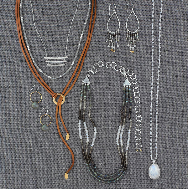 Lasso the Moon Lariat Necklace