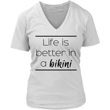 Life is better in a bikini Tank/Tee