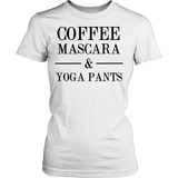 COFFEE MASCARA & YOGA PANTS Tank/Tee