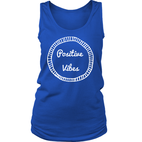Positive Vibes Crew/Tank/Tee - Pretty Little Sayings