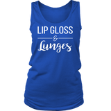 LIP GLOSS & Lunges Crew/Tank/Tee