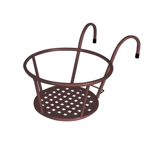 Levede 1x Flower Holder Plant Stand Hanging Pot Basket Plant Garden Wall Storage