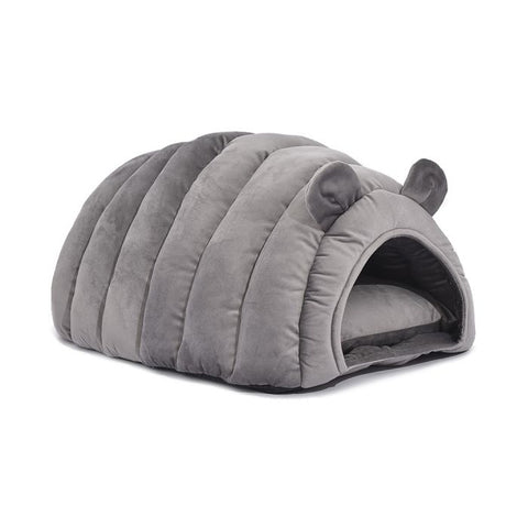 Pet Bed Comfy Kennel Cave Cat Beds Bedding M