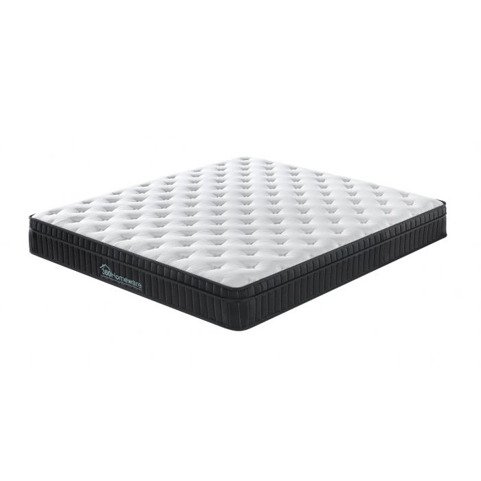 Euro Top Knit Multi-Zone Spring Mattress Size Queen