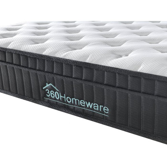 Euro Top Knit Multi-Zone Spring Mattress Size Single