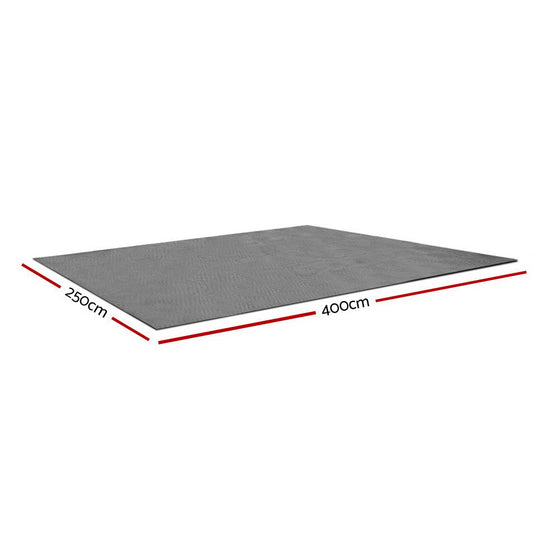 4 X 2.5M Annex Floor Mat - Grey