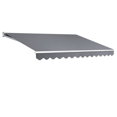 4M x 3M Outdoor Folding Arm Awning - Pegru