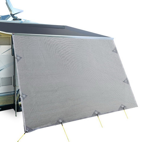 Awning 4.3X1.95M End Wall Side Sun Shade Screen