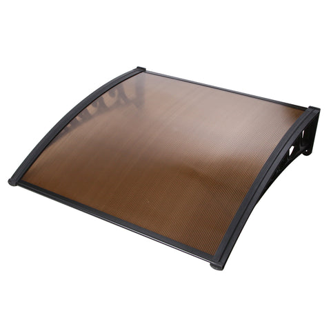 DIY Window Door Awning Brown 1 x 1M