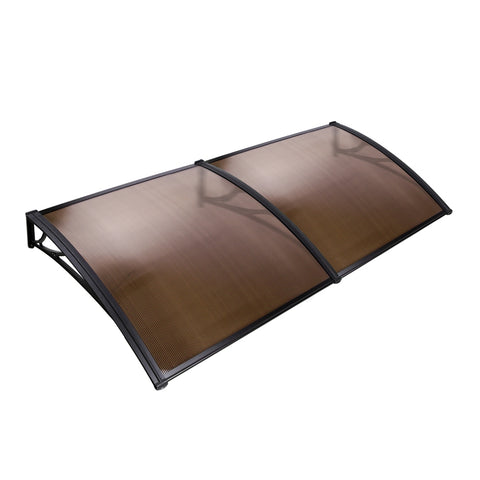 Window Door Awning 1 x 2M - Brown