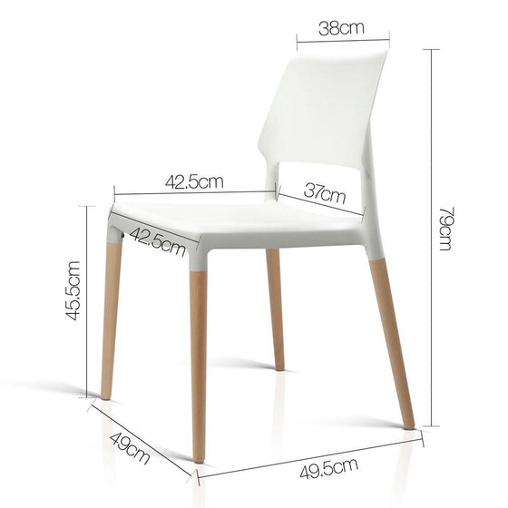 Buy Set Of 4 Belloch Replica Dining Chair White Online