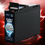 Deep Cycle Battery 12V 135Ah Portable 4WD Sealed Marine Solar Slim