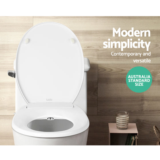 Buy Non Electric Bidet Toilet Seat Bathroom White Online In Australia