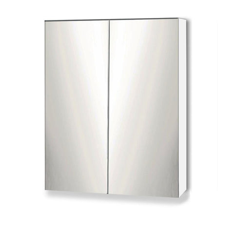 Bathroom Vanity Mirror with Storage Cabinet - White