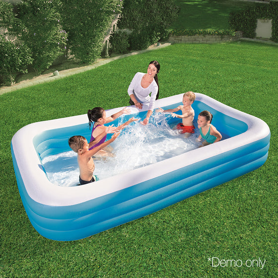 Bestway Inflatable Kids Above Ground Swimming Pool