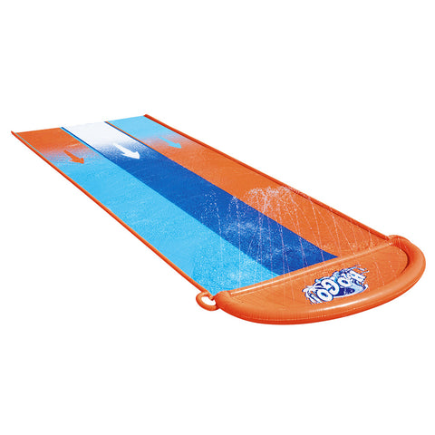 Water Slip And Slide Kids Inflatable Splash Toy Triple 4.88M