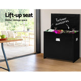 3 Tier Shoe Cabinet Storage Stool Black