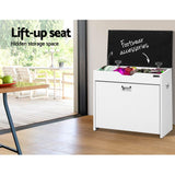 3 Tier Shoe Cabinet Storage Stool White