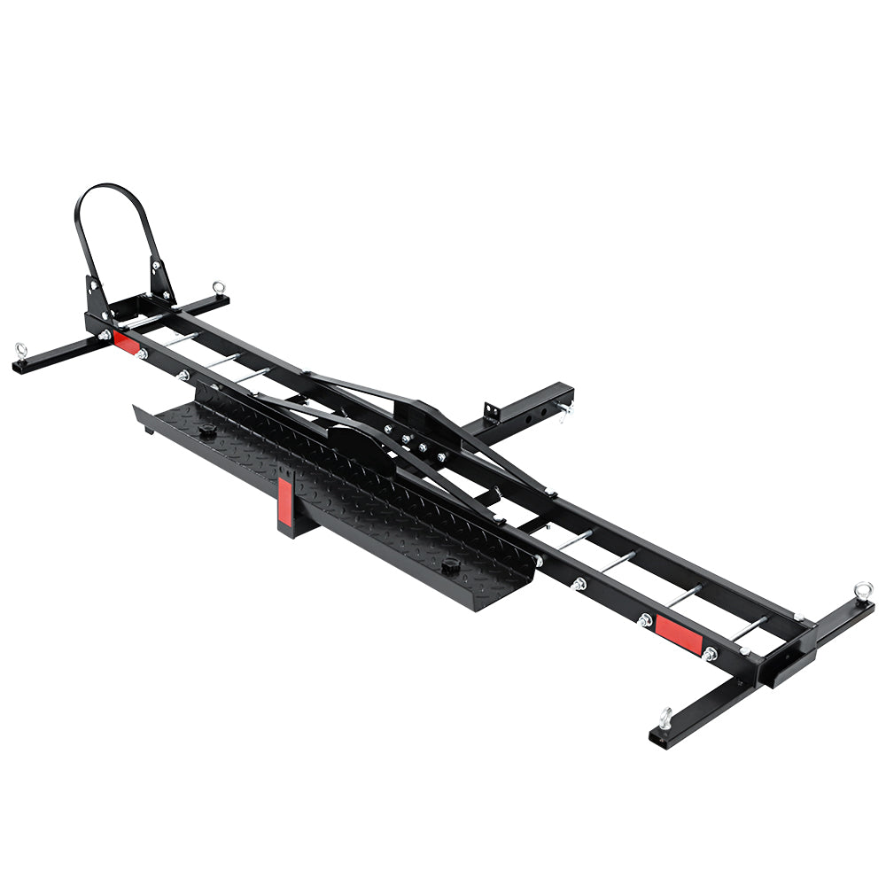Motorcycle Carrier 2 Arms Rack Ramp Motorbike Dirt Bike 2