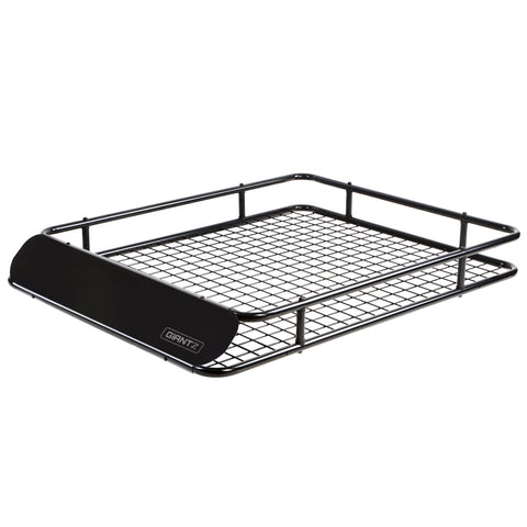 Universal Roof Rack Basket Car Carrier Steel 123cm