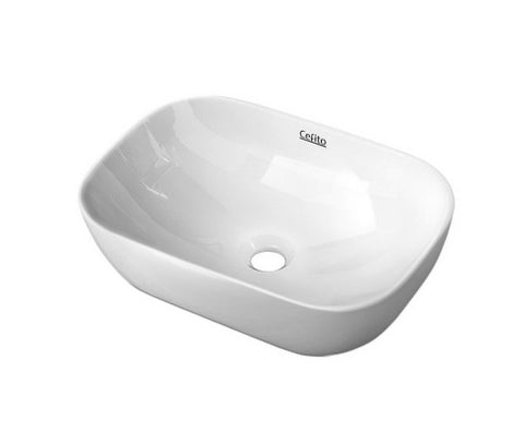 Ceramic Bathroom Basin Sink Vanity Above Counter Basins White Hand Wash