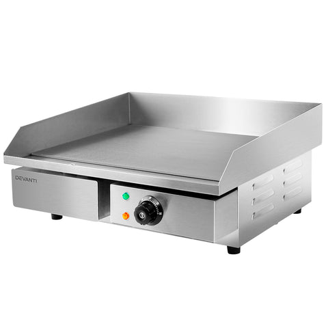 3000W Electric Griddle Hot Plate - Stainless Steel