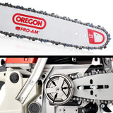 62cc Commercial Petrol Chainsaw 20 Oregon Bar E-Start Chains Saw Tree