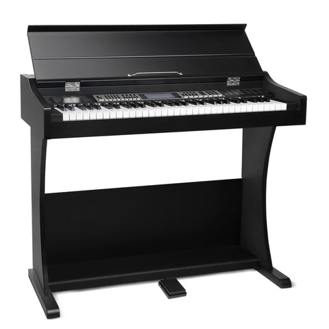 61 Key Electronic Piano Keyboard Electric Digital Classical Music Stand