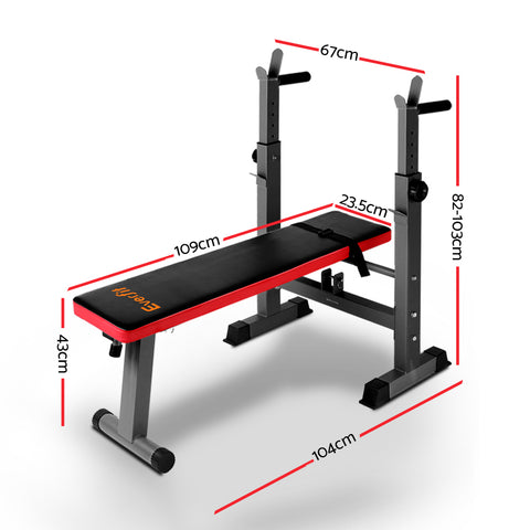 Buy Multi Station Weight Bench Press Weights Equipment Fitness Home