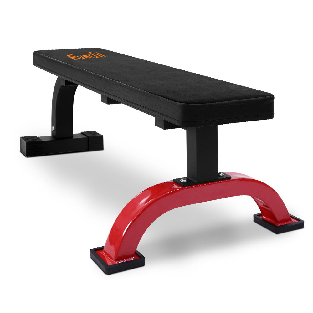 Fitness Flat Bench Weight Press Gym Home Strength Training Exercise