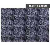 Gradient Floor Rugs 160 x 230 Shaggy Large Carpet Soft Area Bedroom