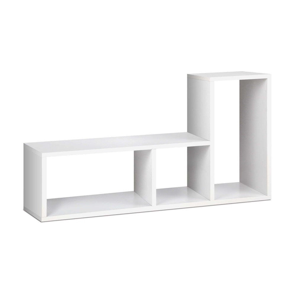Buy L Shaped Stackable Display Shelf White Online In