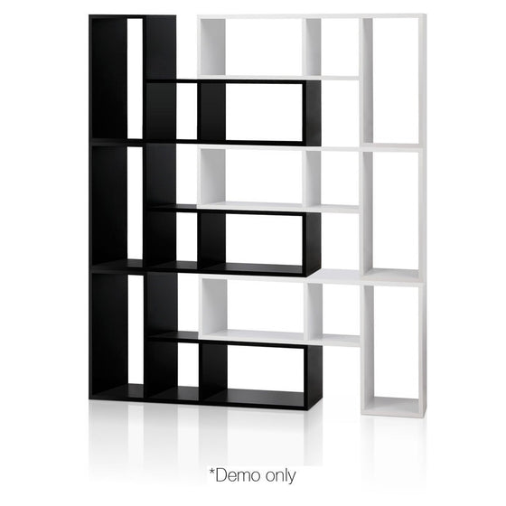 L Shaped Stackable Display Shelf - White