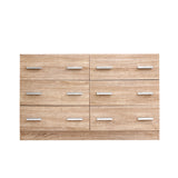 6 Chest of Drawers Cabinet Dresser Table Tallboy Lowboy Storage Wood