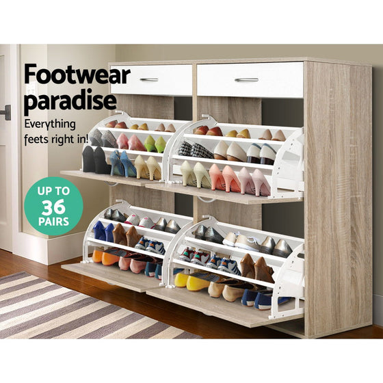 Shoe Cabinet – 36 Pairs