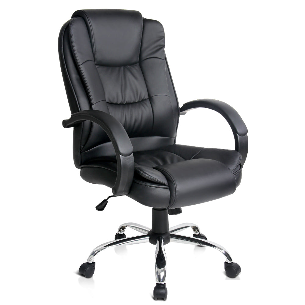 Buy Executive Pu Leather Office Computer Chair Black