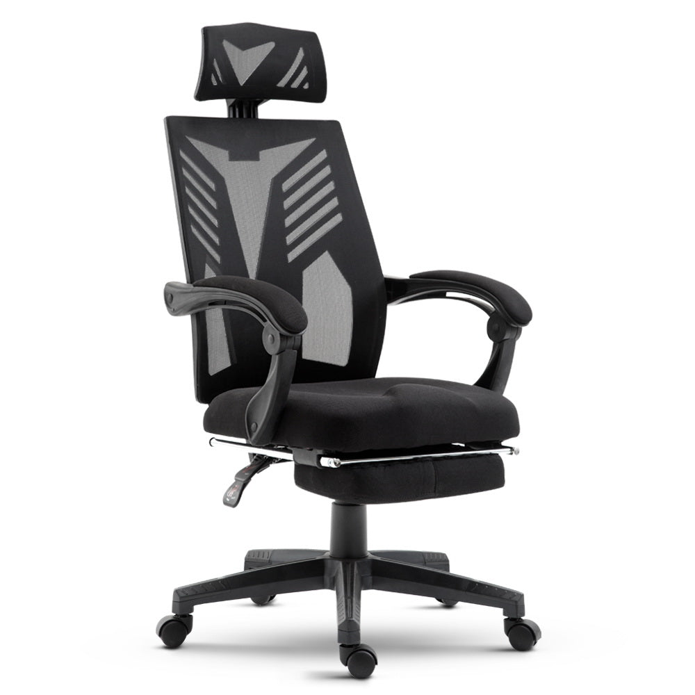Gaming Office Chair Computer Desk Chair Home Work Recliner Black
