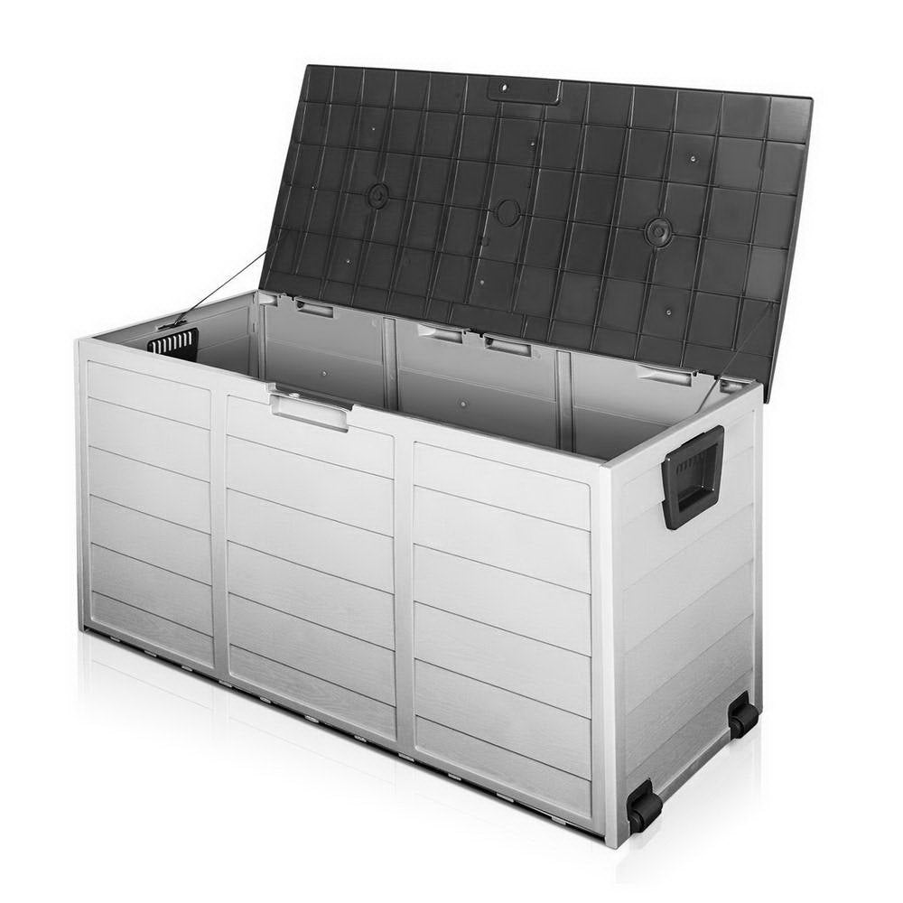 290L Outdoor Storage Box - Black